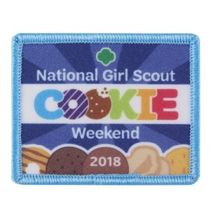 National GS Cookie Weekend 2018